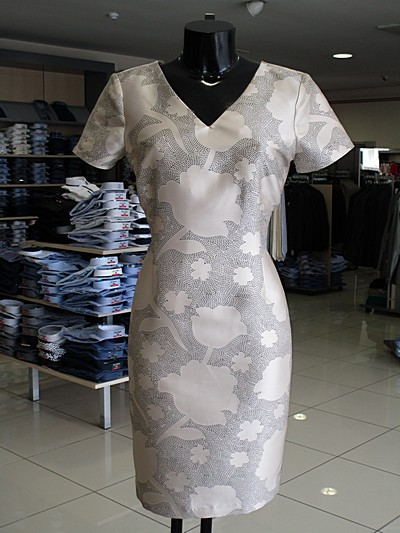 linea obleka dress labod m