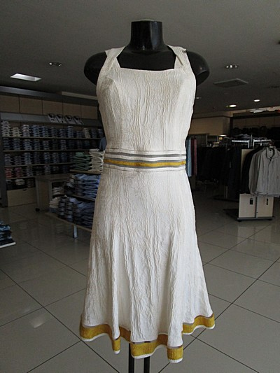 obleka luna labod m dress